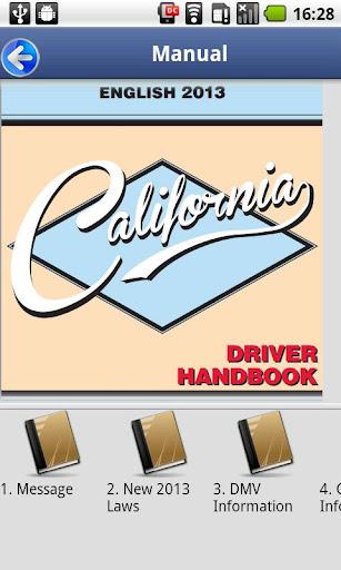 Driver License Test California