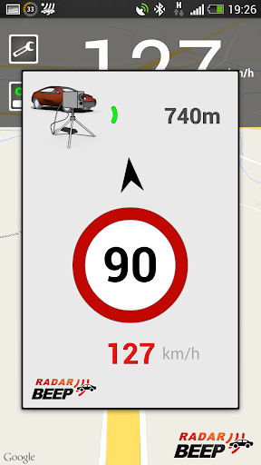 Radar Beep - Radar Detector Screenshot
