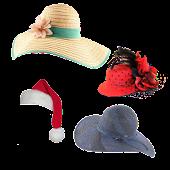 Girls Hats Stickers