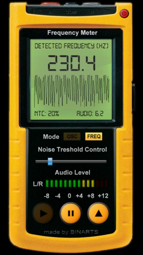 60 Hertz Frequency Meter : Frequency meter pro android apps on google play