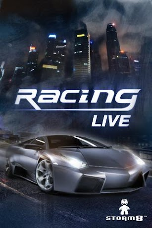 Racing Live screenshot for Android