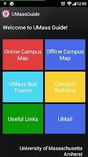 UMass Guide (Amherst)- screenshot thumbnail