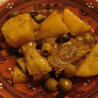 Algerian Beef, Potato & Olive Tagine