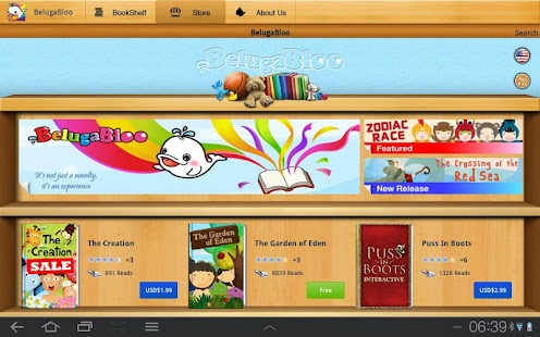 BelugaBloo Kids Bookstore - screenshot thumbnail