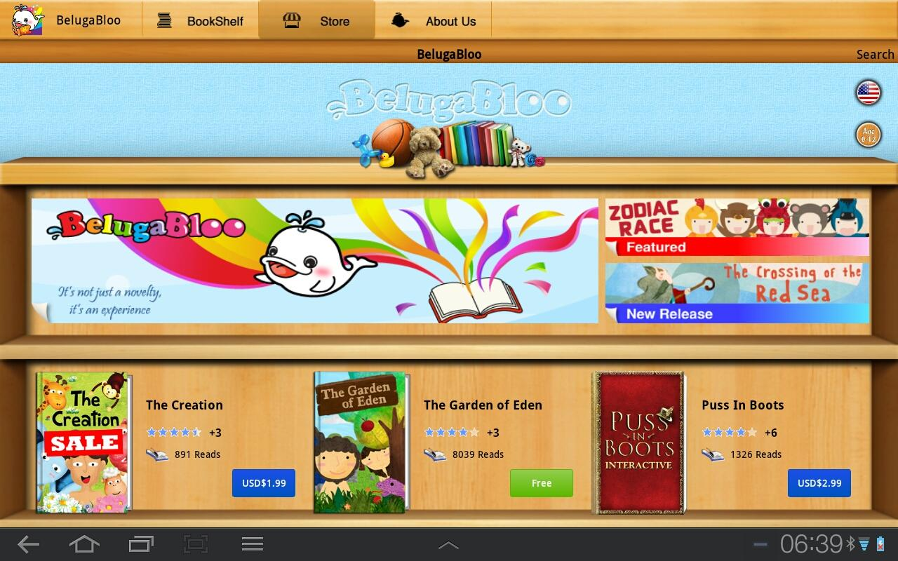 BelugaBloo Kids Bookstore- screenshot