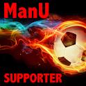 ManUSUPPORTER logo
