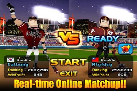 Homerun Battle 3D FREE- screenshot thumbnail