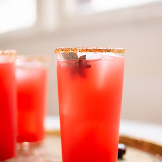 Fresh Cranberry Margaritas.