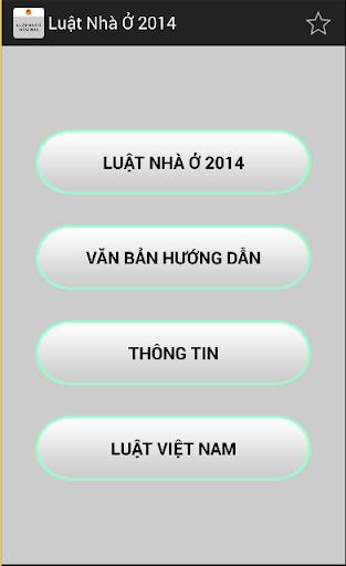 Luat Nha o Viet Nam 2014