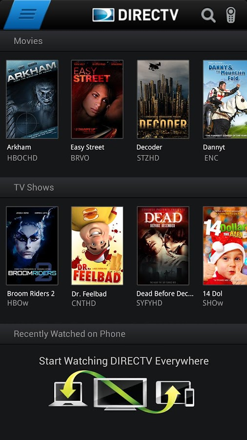 how to watch on demand on directv now