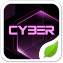 Cyber Pink GOLauncher EX Theme icon