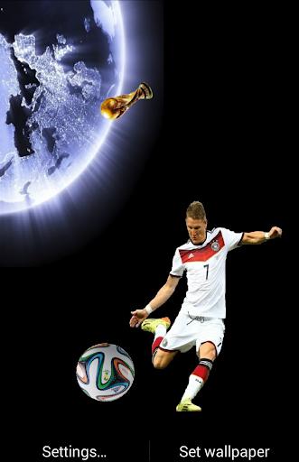 B Schweinsteiger LiveWallpaper