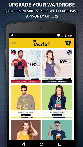 Bewakoof Shopping App