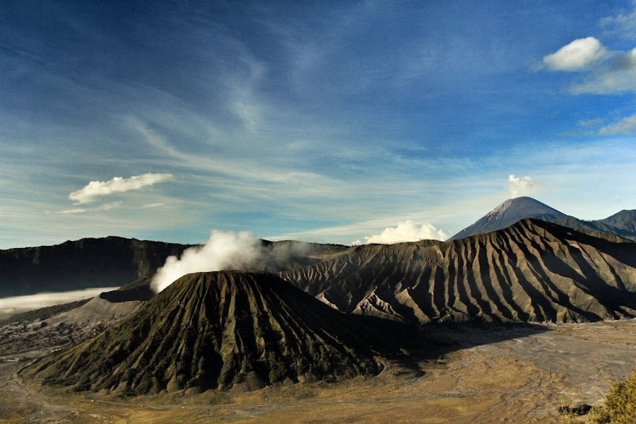 Bromo Mountain by Pak N - Landscapes Mountains & Hills ( mountain, indonesia, landscapes, bromo,  )