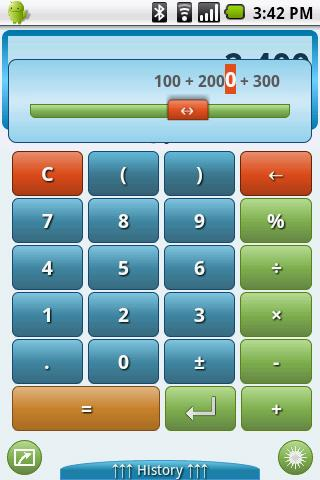 Easy Calc - a smart calculator - screenshot