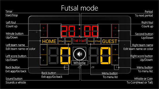 Scoreboard Futsal- screenshot thumbnail