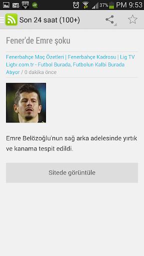 【免費新聞App】Fenerbahce Son Dakika-APP點子
