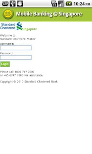 Mobile Banking @ Singapore - screenshot thumbnail