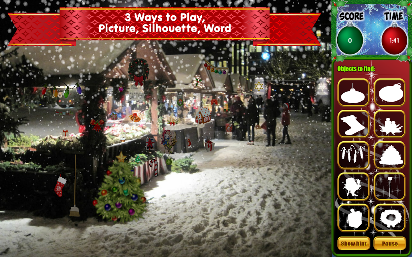 Hidden Objects Christmas...- screenshot