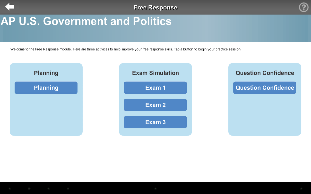 AP Exam Prep US Government- screenshot