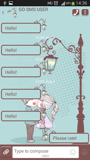 GO短信加强版女