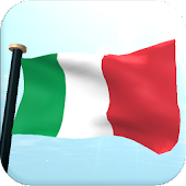 Italy Flag 3D Free Wallpaper