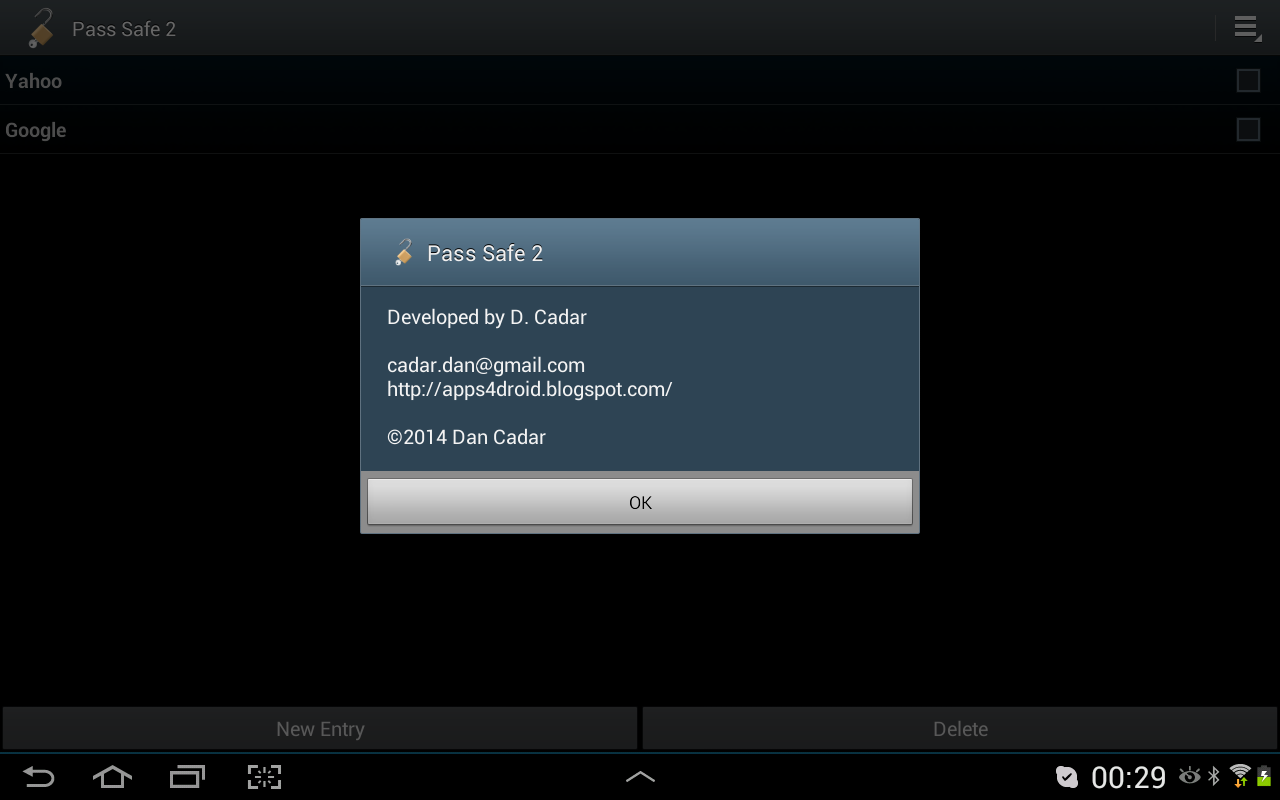 Pass Safe 2 - screenshot