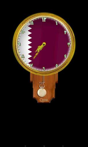Qatar Clock Widget