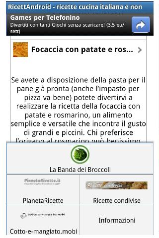 Italian cooking recipes news- screenshot