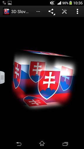 3D Slovakia Live Wallpaper
