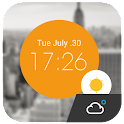 Weather Clock Cool Widget icon