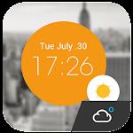 Weather Clock Cool Widget 15.1.0.46090