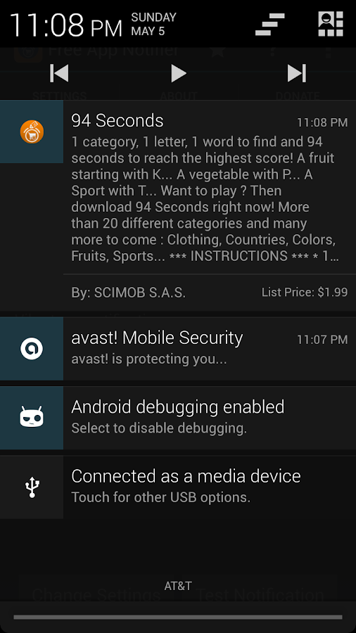 Free App Notifier For Amazon- screenshot