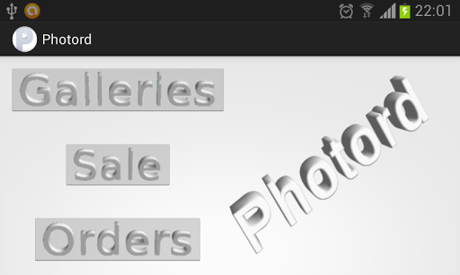 Photord - photo selling