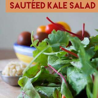 Sautéed Kale Salad