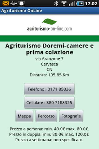 Agriturismo On Line - screenshot