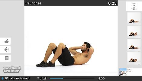Workout Trainer fitness coach Screenshot 37