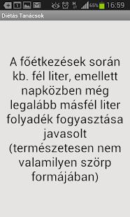 Diéta és fogyókúra - magyar- screenshot thumbnail