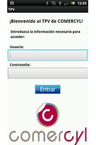 COMERCYL TPV app