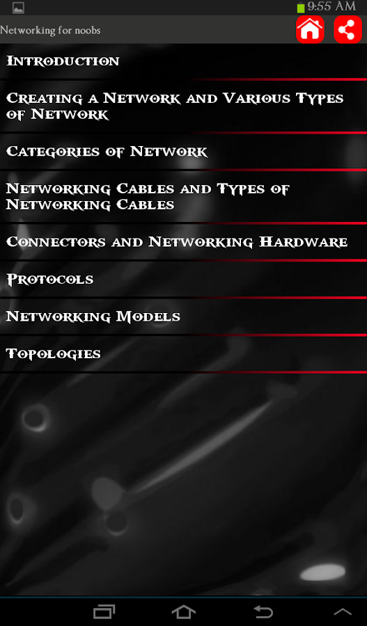 Networking For Noobs- screenshot