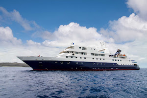 The intimate Celebrity Xpedition en route to the Galápagos Islands.