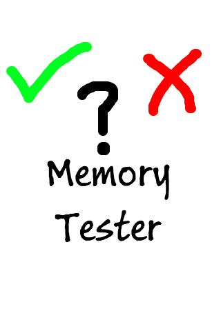 Memory Tester