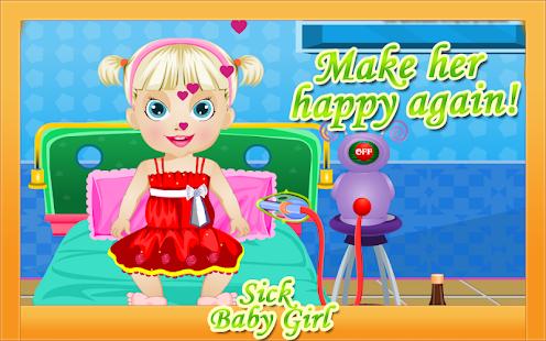 免費下載角色扮演APP|Baby Games - Sick Girl app開箱文|APP開箱王