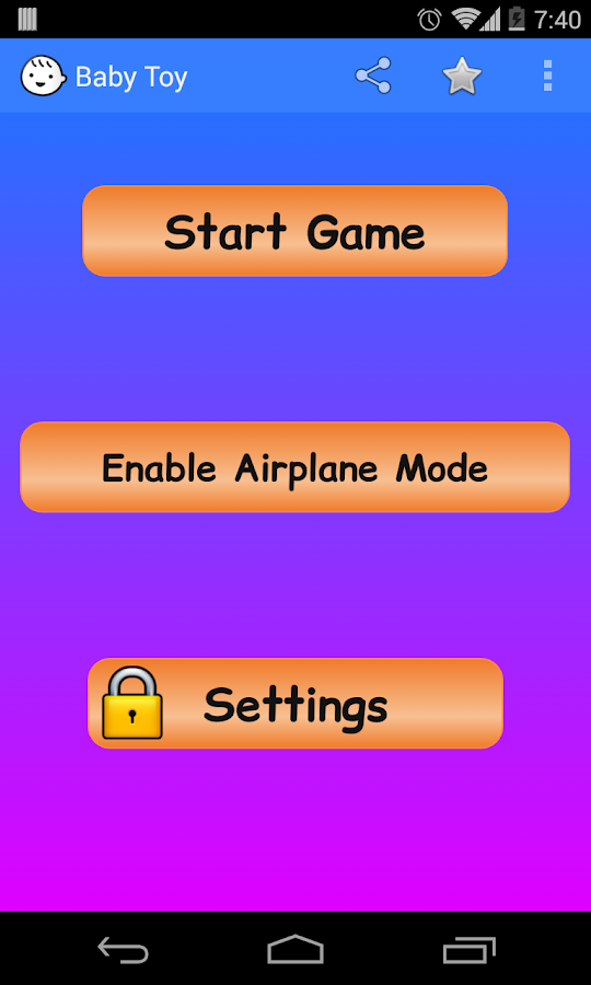 Baby Toy with Lock - screenshot