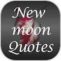 Twilight Newmoon Quotes logo