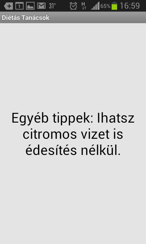 Diéta és fogyókúra - magyar- screenshot
