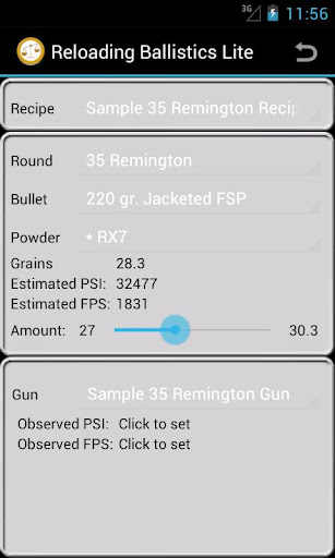 35 Remington Ballistics Data