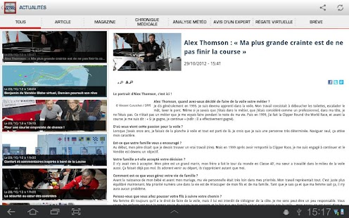Vendée Globe - screenshot thumbnail