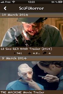 Reservoir Trailers- screenshot thumbnail