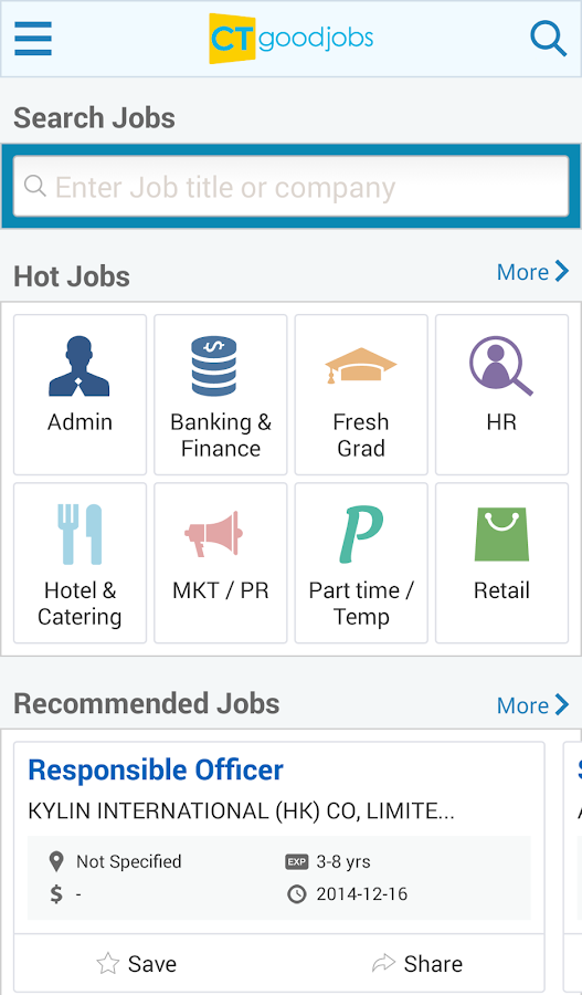 Job Search - CTgoodjobs- screenshot